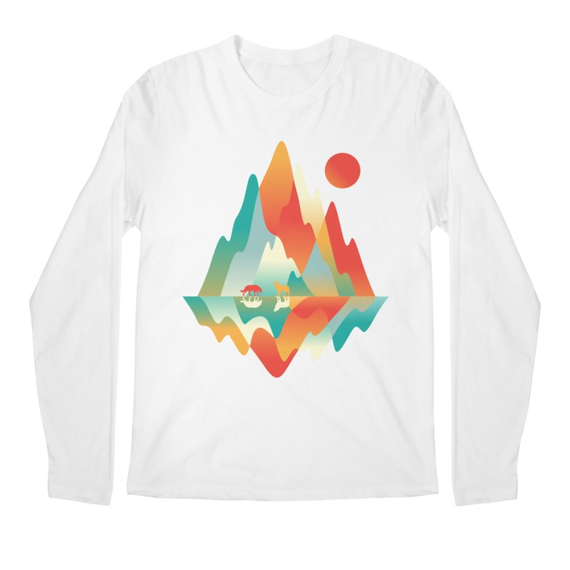 Color in the wild Men's Regular Longsleeve T-Shirt by Steven Toang