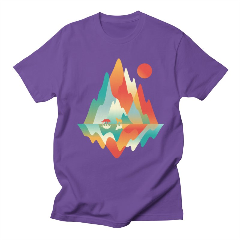 Color in the wild Men's Regular T-Shirt by Steven Toang
