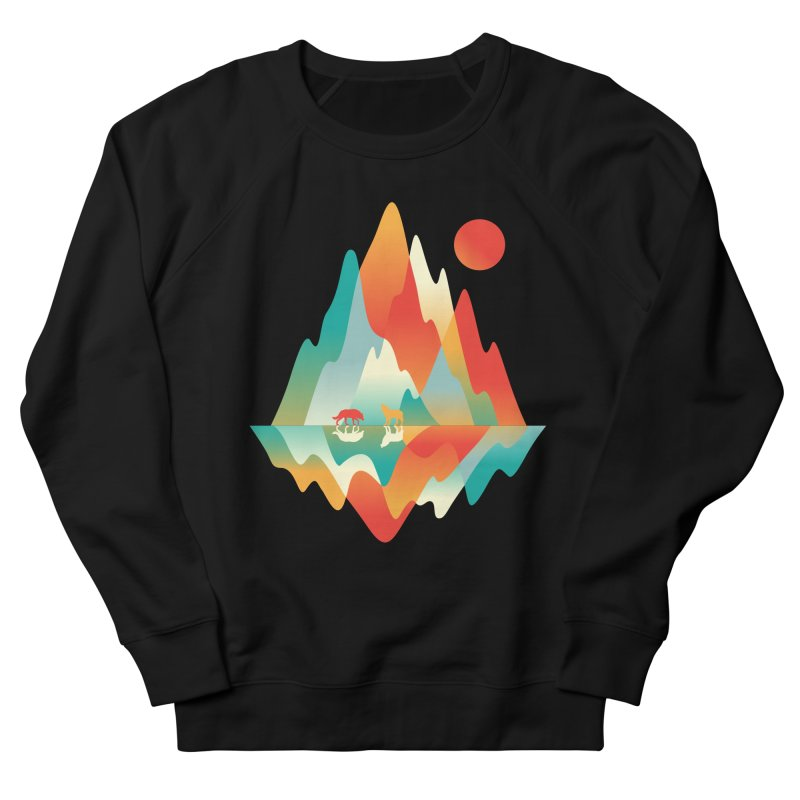 Color in the wild Women's French Terry Sweatshirt by Steven Toang