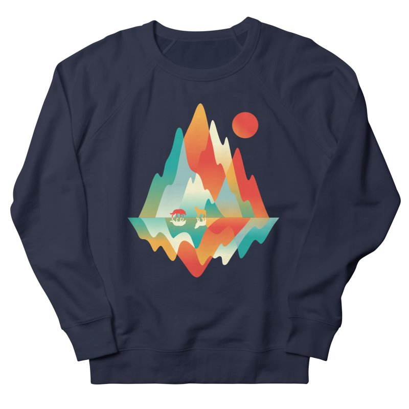 Color in the wild Men's French Terry Sweatshirt by Steven Toang