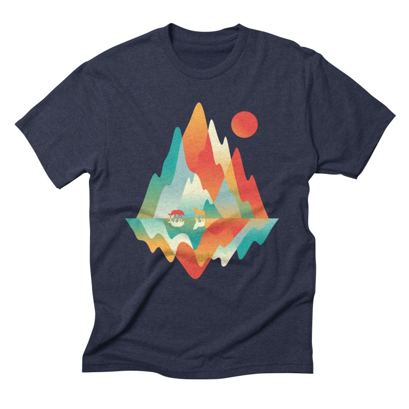 Color in the wild Men's Triblend T-Shirt by Steven Toang