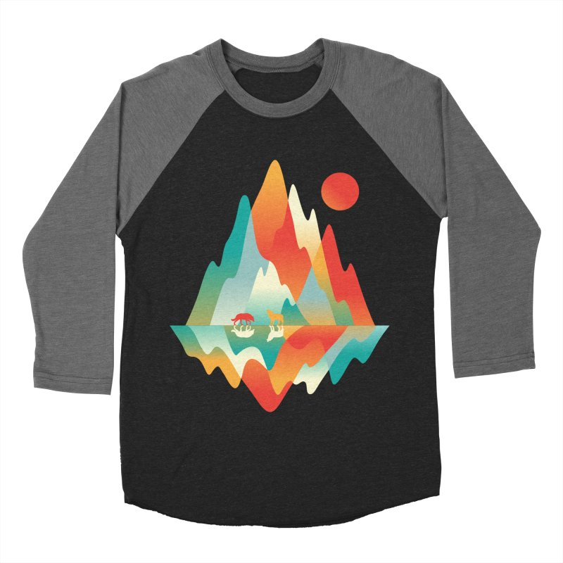 Color in the wild Men's Baseball Triblend Longsleeve T-Shirt by Steven Toang