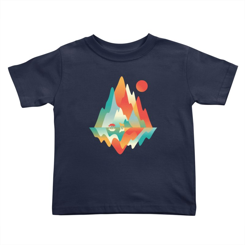Color in the wild Kids Toddler T-Shirt by Steven Toang