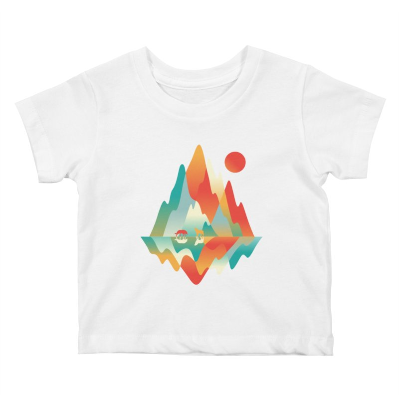 Color in the wild Kids Baby T-Shirt by Steven Toang