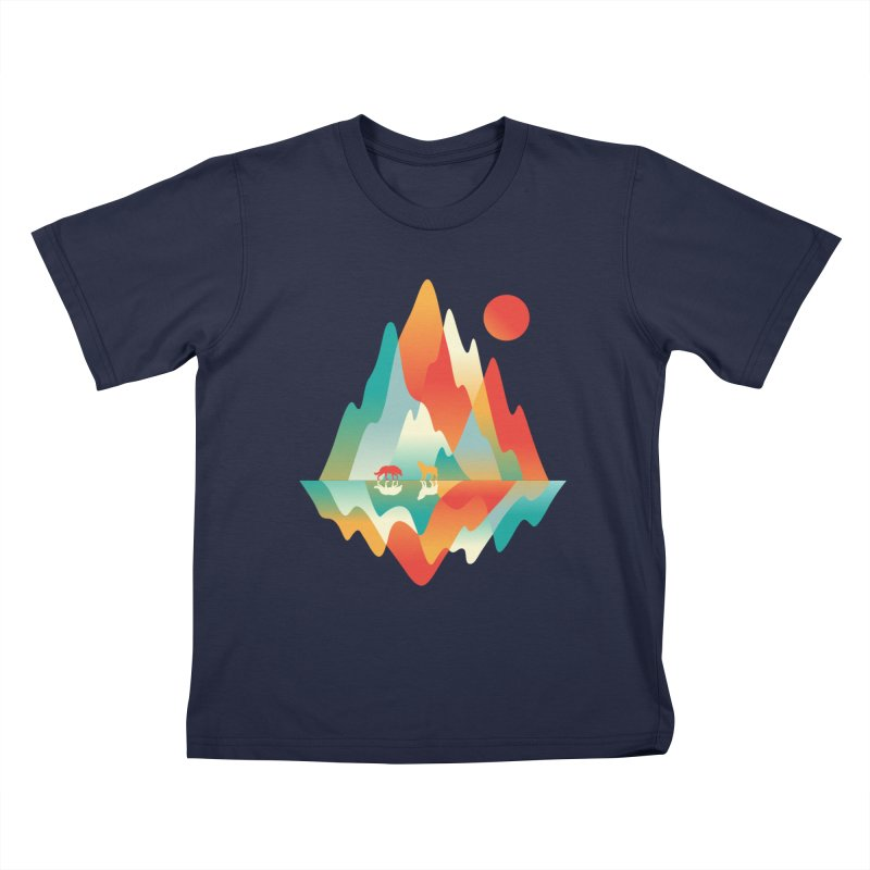 Color in the wild Kids T-Shirt by Steven Toang