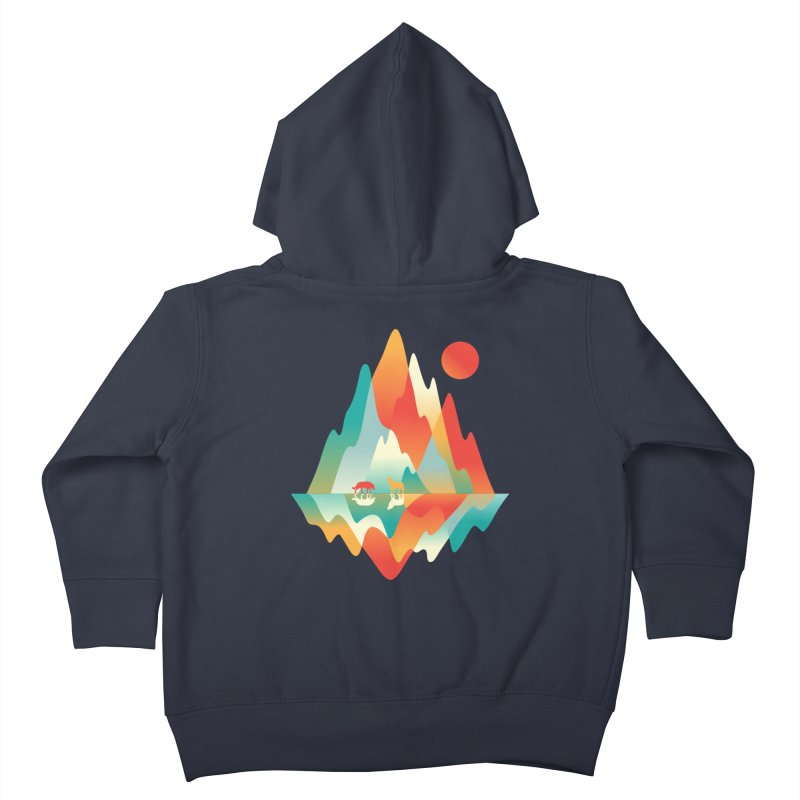 Color in the wild Kids Toddler Zip-Up Hoody by Steven Toang