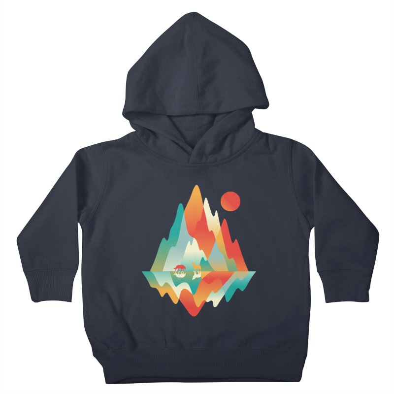 Color in the wild Kids Toddler Pullover Hoody by Steven Toang