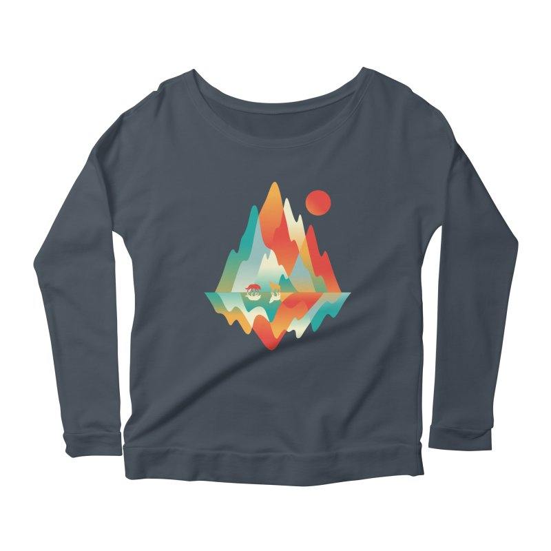 Color in the wild Women's Scoop Neck Longsleeve T-Shirt by Steven Toang