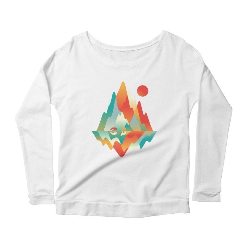 Color in the wild Women's Scoop Neck Longsleeve T-Shirt by Steven Toang