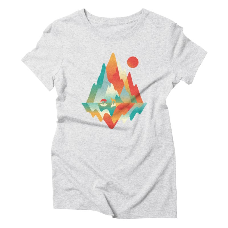 Color in the wild Women's Triblend T-Shirt by Steven Toang