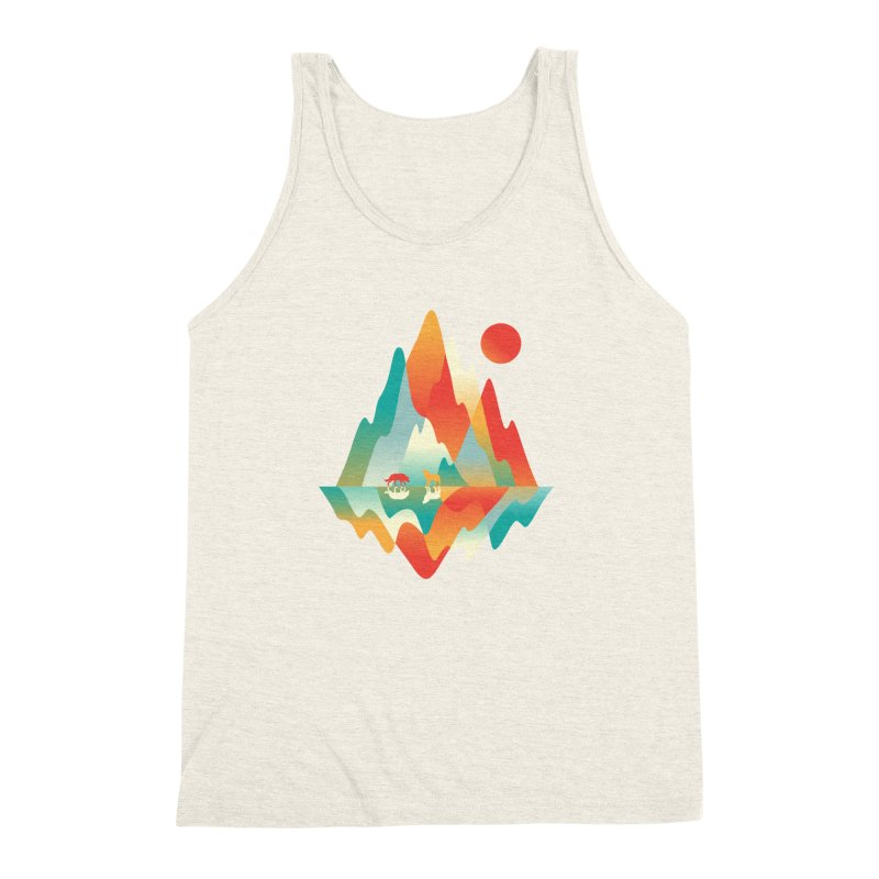 Color in the wild Men's Triblend Tank by Steven Toang