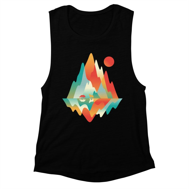 Color in the wild Women's Muscle Tank by Steven Toang