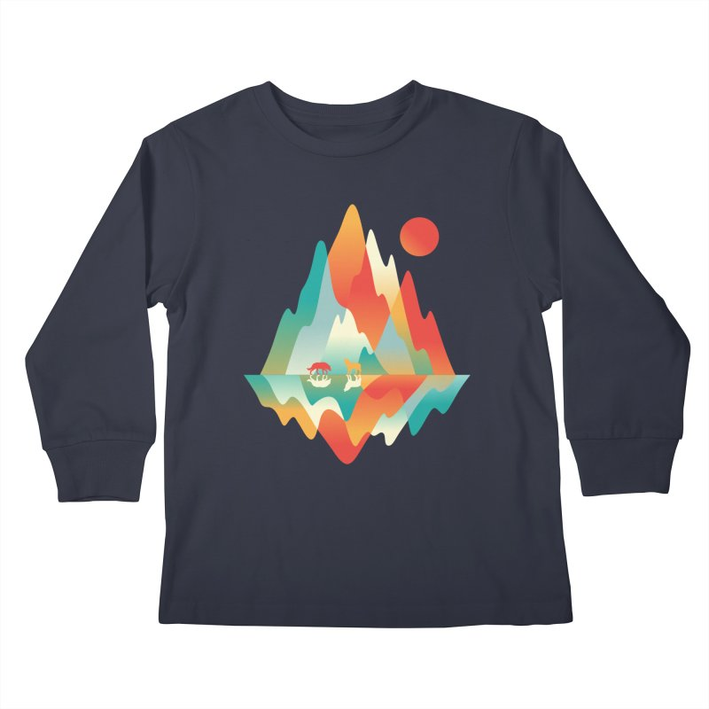 Color in the wild Kids Longsleeve T-Shirt by Steven Toang