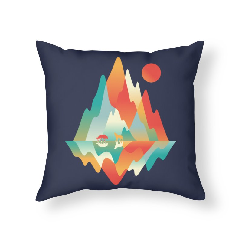 Color in the wild Home Throw Pillow by Steven Toang