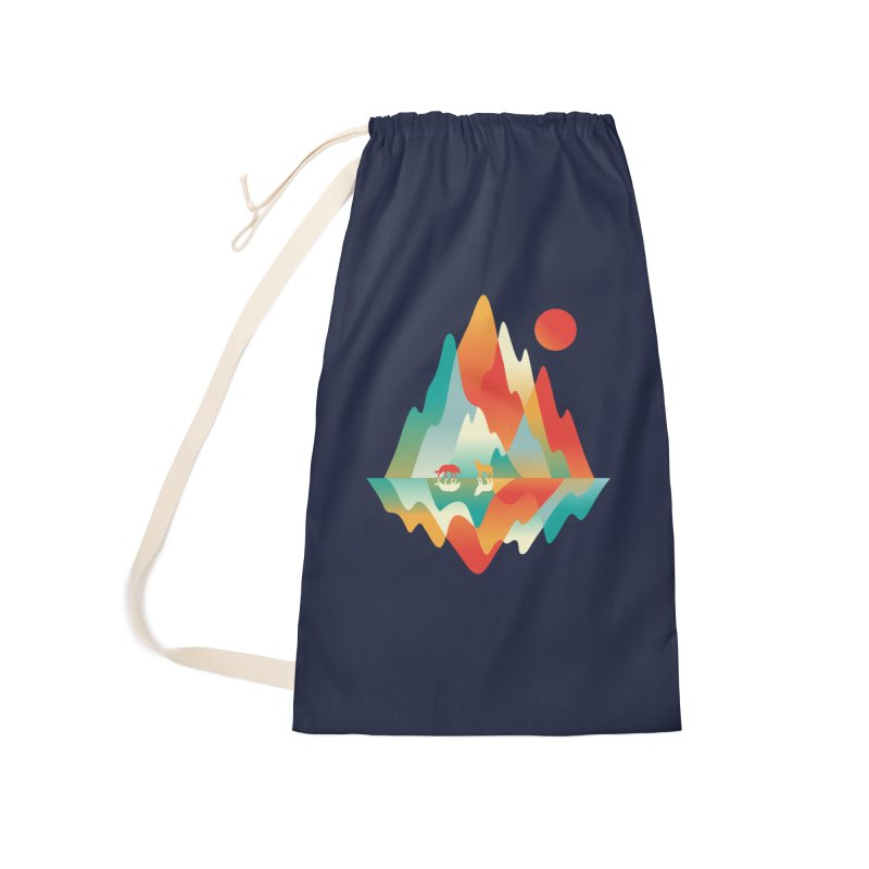 Color in the wild Accessories Laundry Bag Bag by Steven Toang
