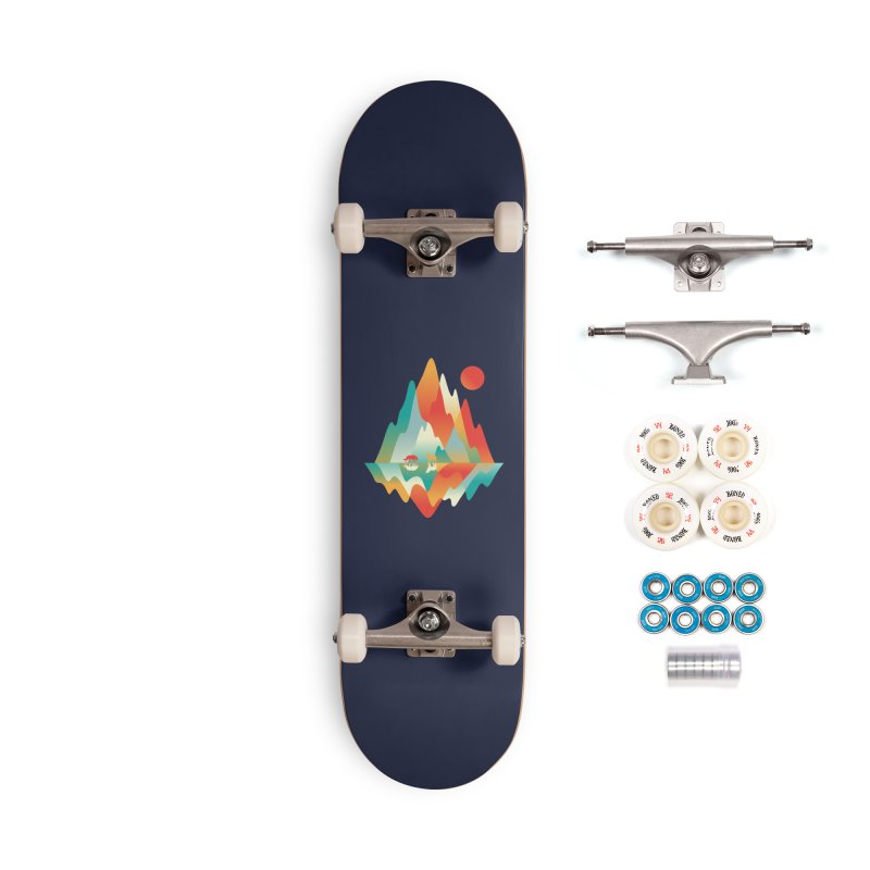 Color in the wild Accessories Skateboard by Steven Toang