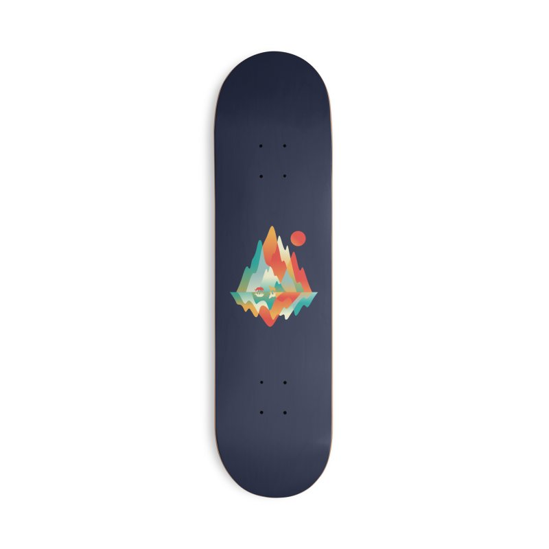 Color in the wild Accessories Deck Only Skateboard by Steven Toang