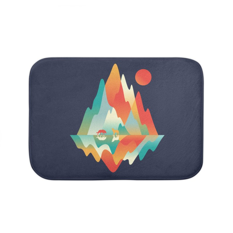 Color in the wild Home Bath Mat by Steven Toang