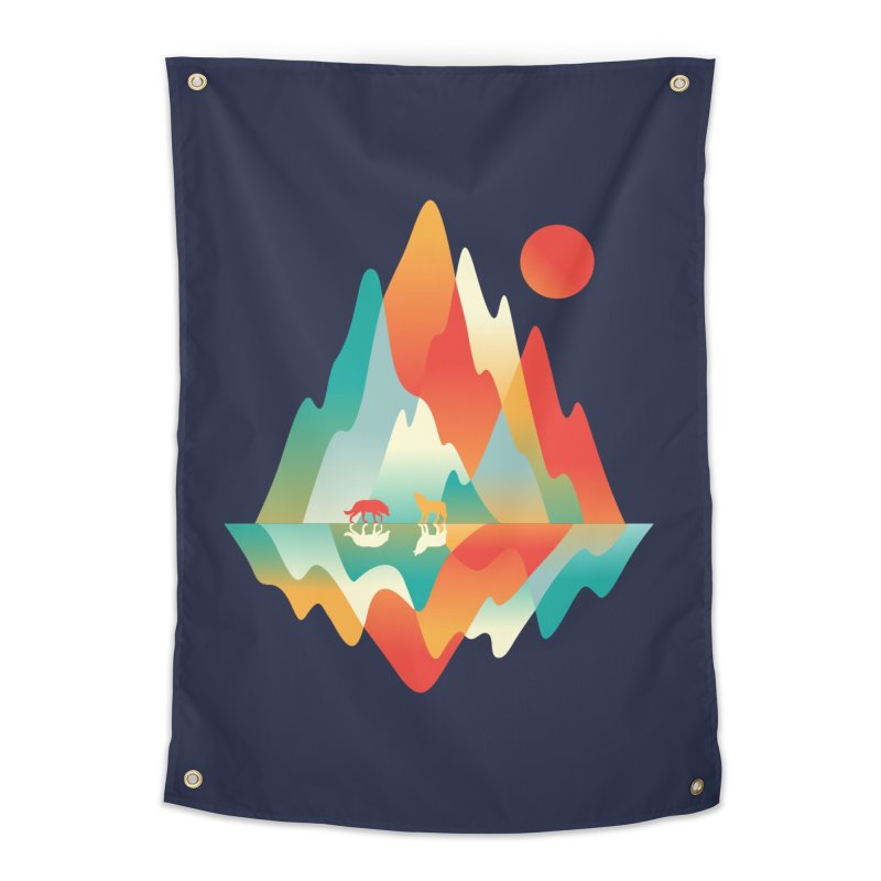 Color in the wild Home Tapestry by Steven Toang