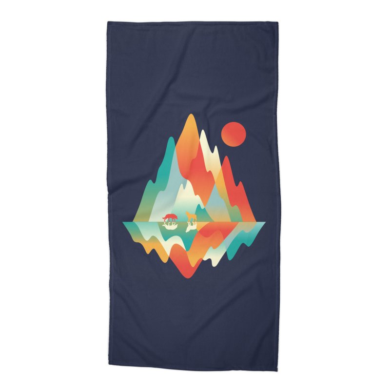Color in the wild Accessories Beach Towel by Steven Toang