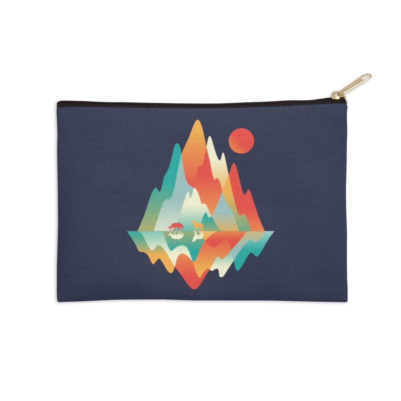 Color in the wild Accessories Zip Pouch by Steven Toang