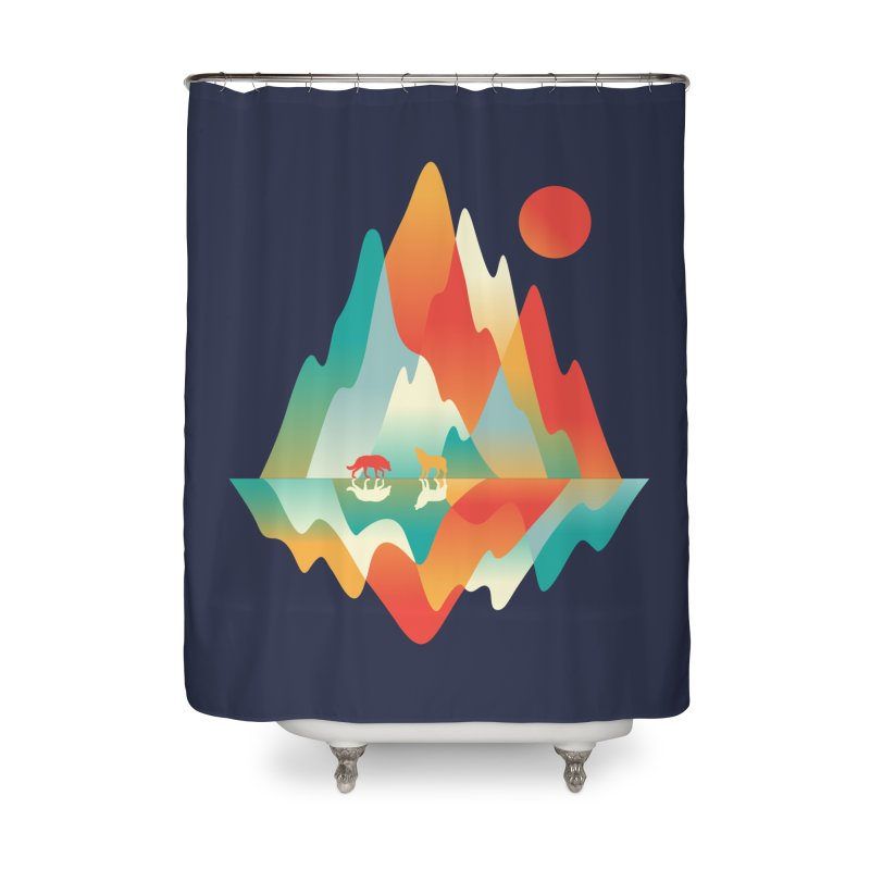 Color in the wild Home Shower Curtain by Steven Toang