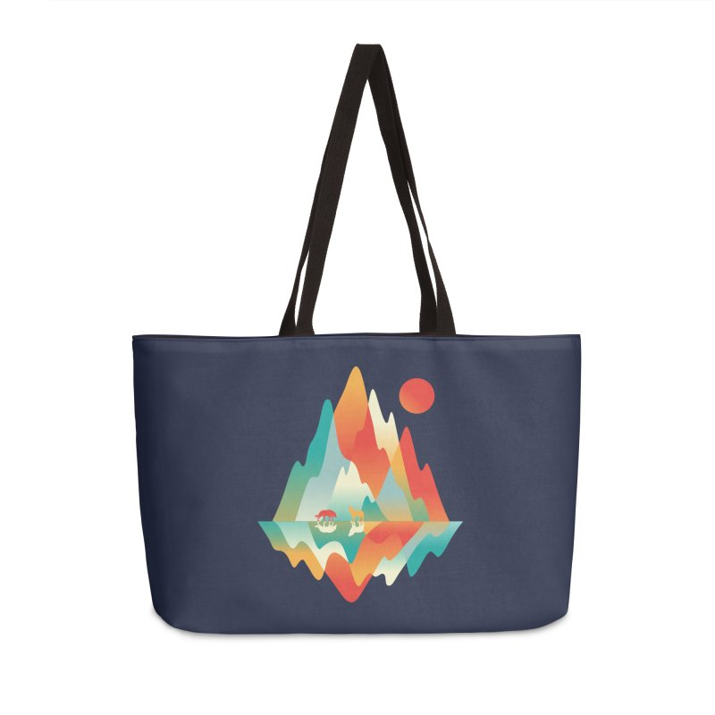 Color in the wild Accessories Weekender Bag Bag by Steven Toang