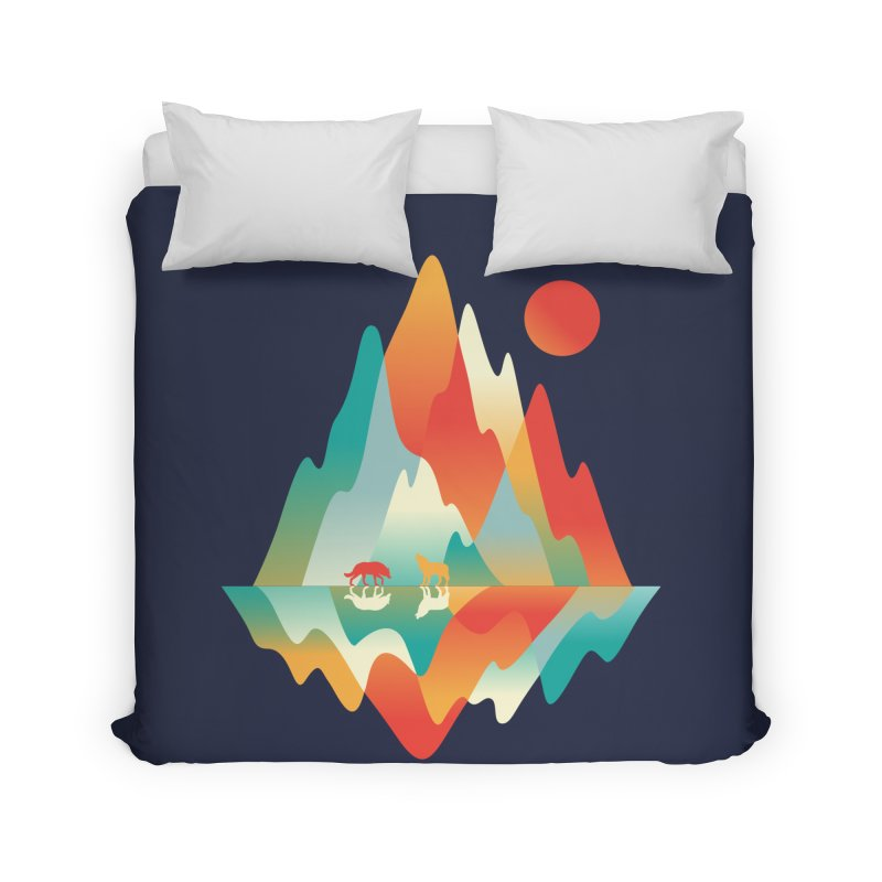 Color in the wild Home Duvet by Steven Toang