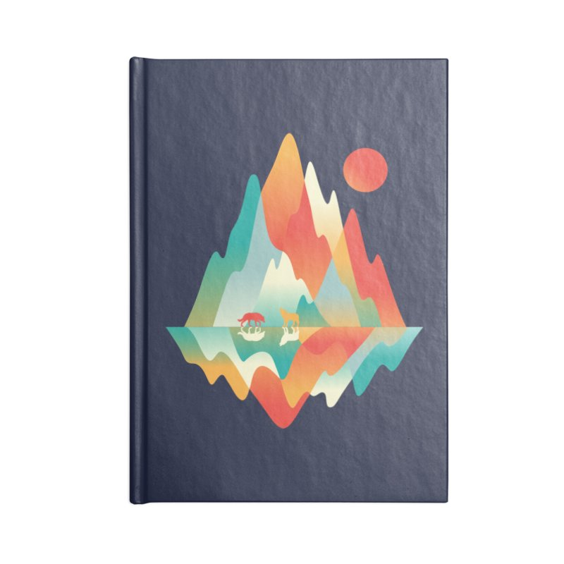 Color in the wild Accessories Blank Journal Notebook by Steven Toang