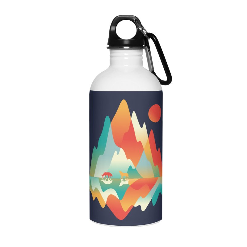 Color in the wild Accessories Water Bottle by Steven Toang
