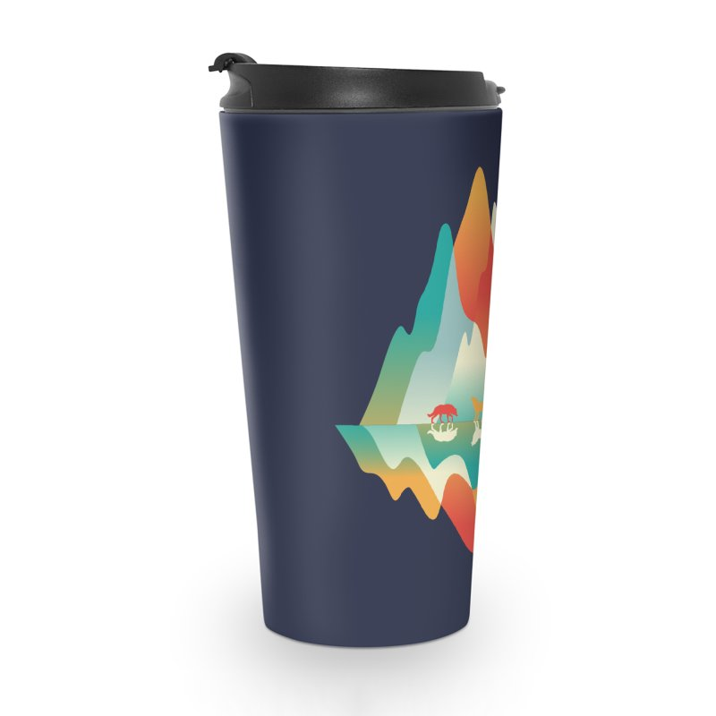 Color in the wild Accessories Travel Mug by Steven Toang