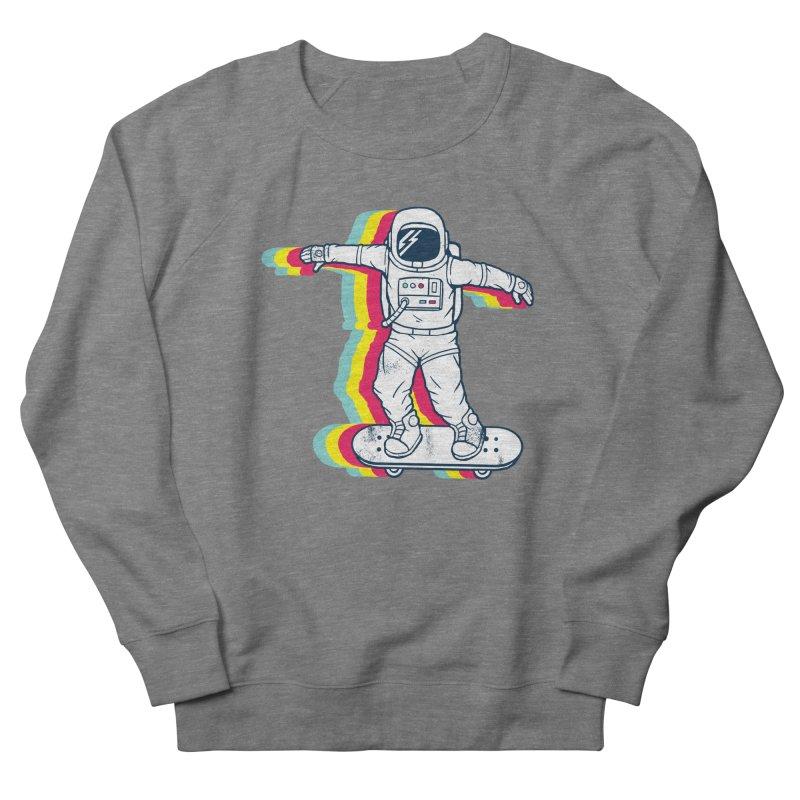 Spaceboarding Men's Sweatshirt by Steven Toang