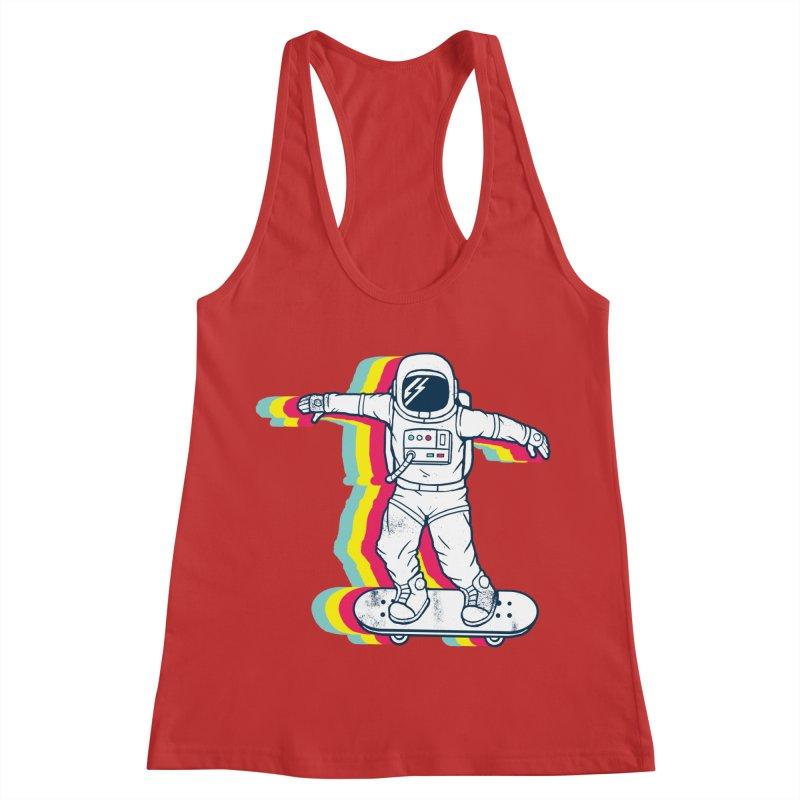 Spaceboarding Women's Tank by Steven Toang