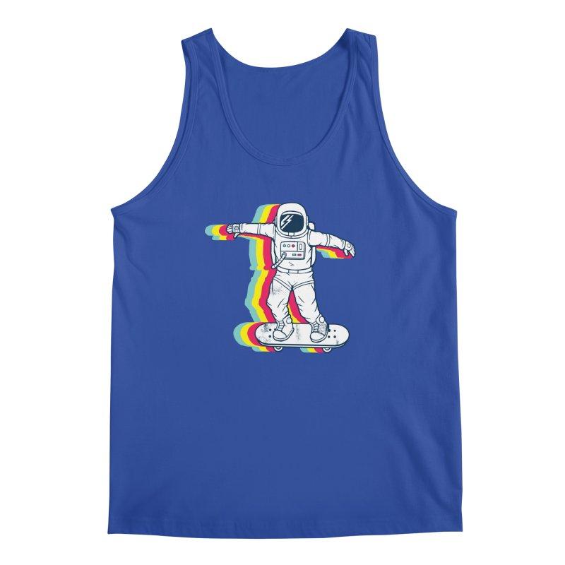 Spaceboarding Men's Regular Tank by Steven Toang