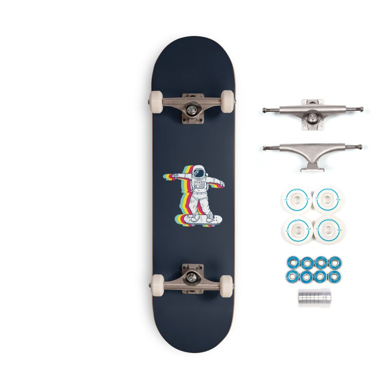Spaceboarding Accessories Complete - Basic Skateboard by Steven Toang