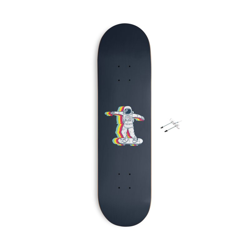 Spaceboarding Accessories With Hanging Hardware Skateboard by Steven Toang