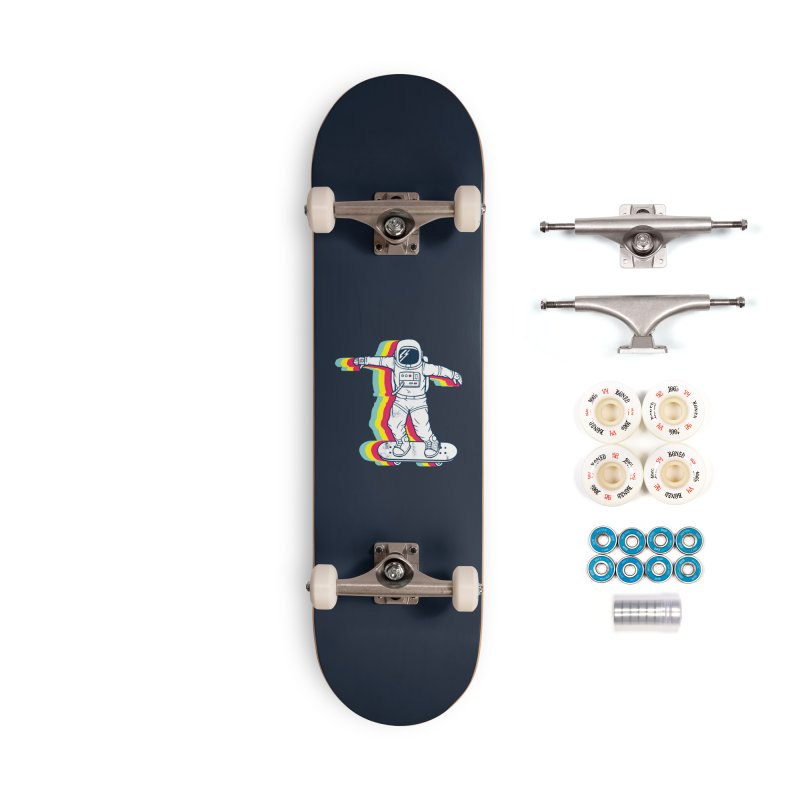 Spaceboarding Accessories Complete - Premium Skateboard by Steven Toang