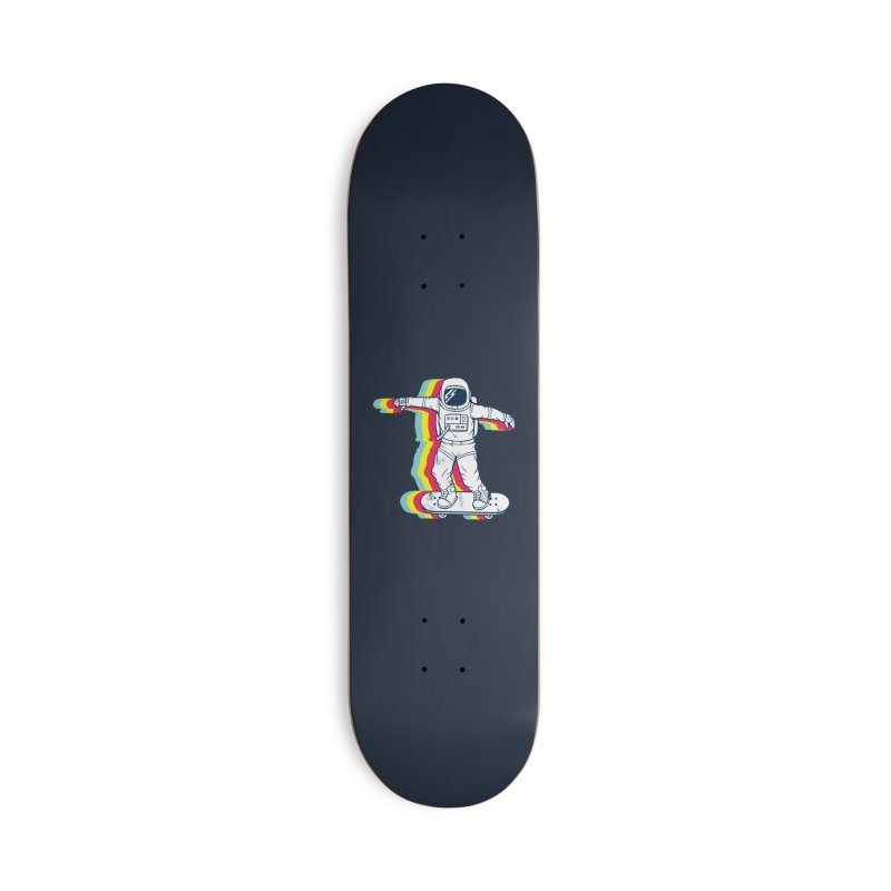 Spaceboarding Accessories Deck Only Skateboard by Steven Toang