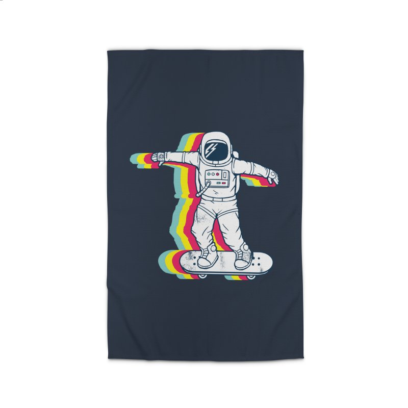 Spaceboarding Home Rug by Steven Toang
