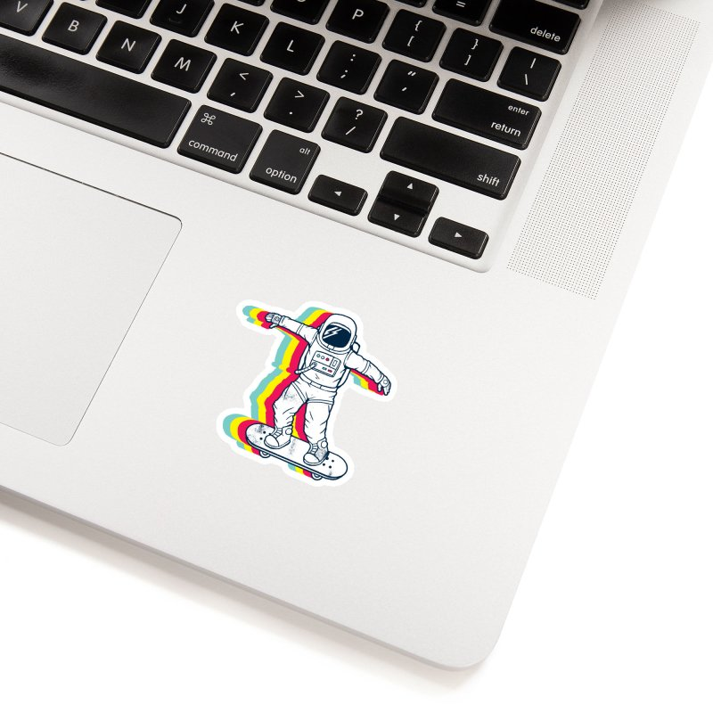 Spaceboarding Accessories Sticker by Steven Toang