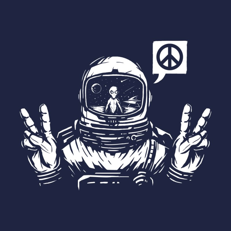We came in peace Men's Longsleeve T-Shirt by Steven Toang