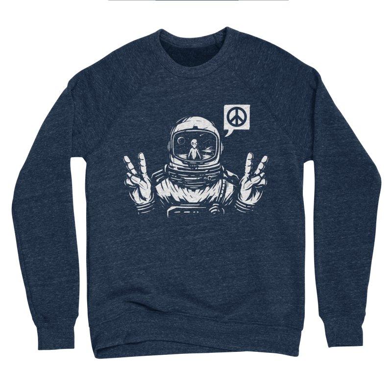 We came in peace Women's Sponge Fleece Sweatshirt by Steven Toang