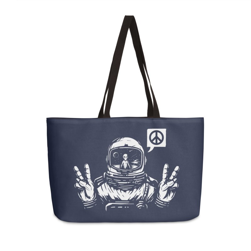We came in peace Accessories Weekender Bag Bag by Steven Toang