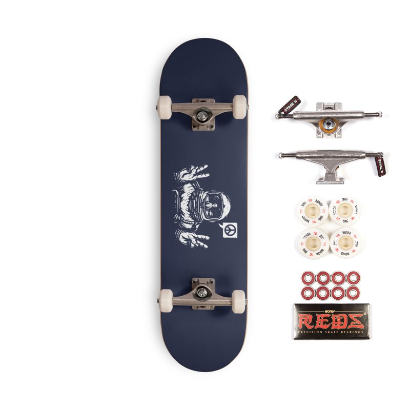 We came in peace Accessories Complete - Pro Skateboard by Steven Toang
