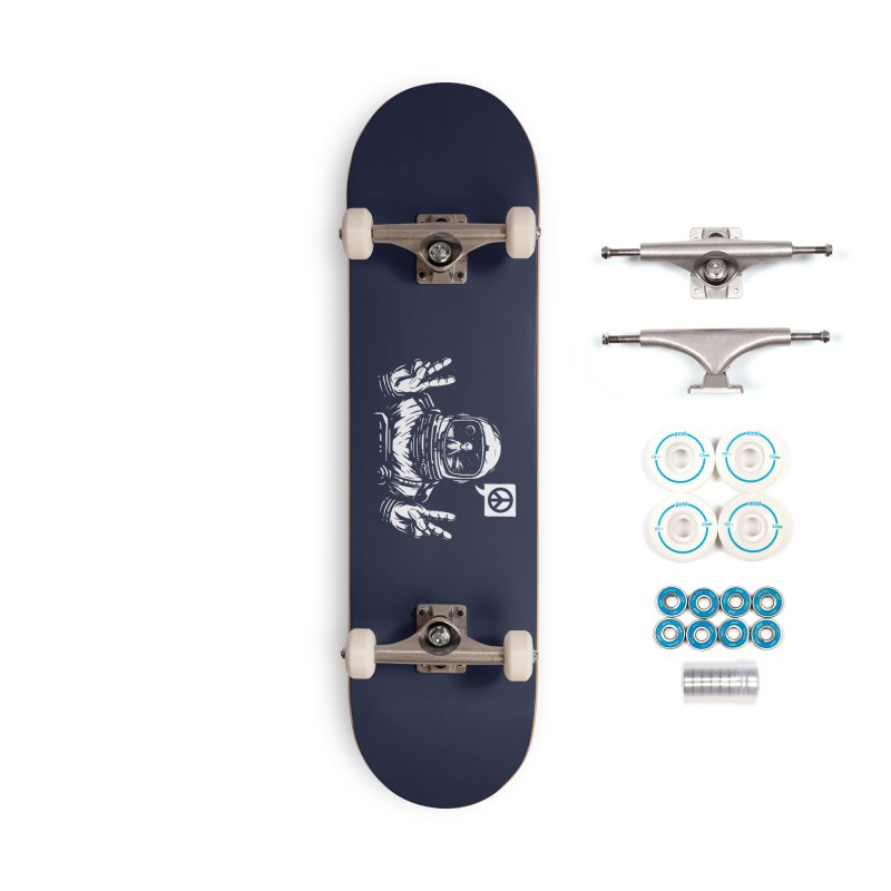 We came in peace Accessories Complete - Basic Skateboard by Steven Toang