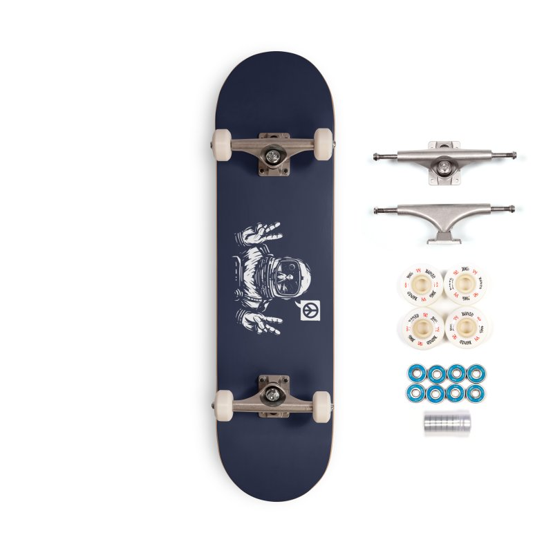 We came in peace Accessories Complete - Premium Skateboard by Steven Toang
