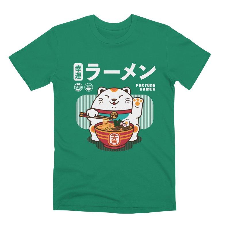 Fortune Ramen Men's Premium T-Shirt by Steven Toang
