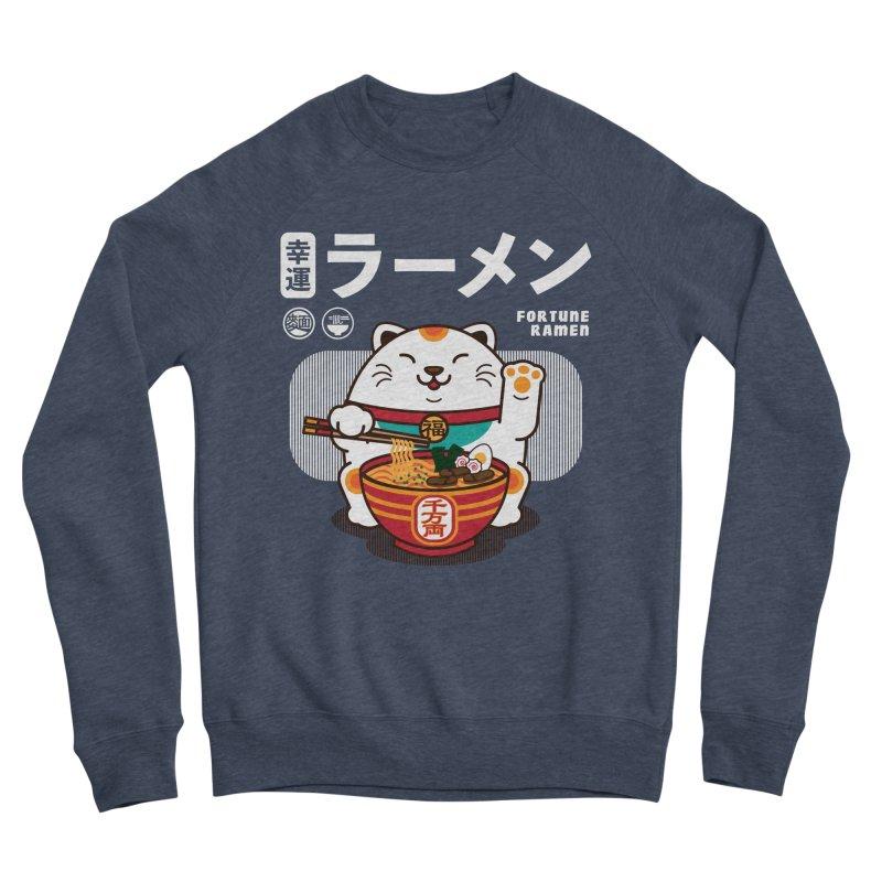 Fortune Ramen Men's Sponge Fleece Sweatshirt by Steven Toang