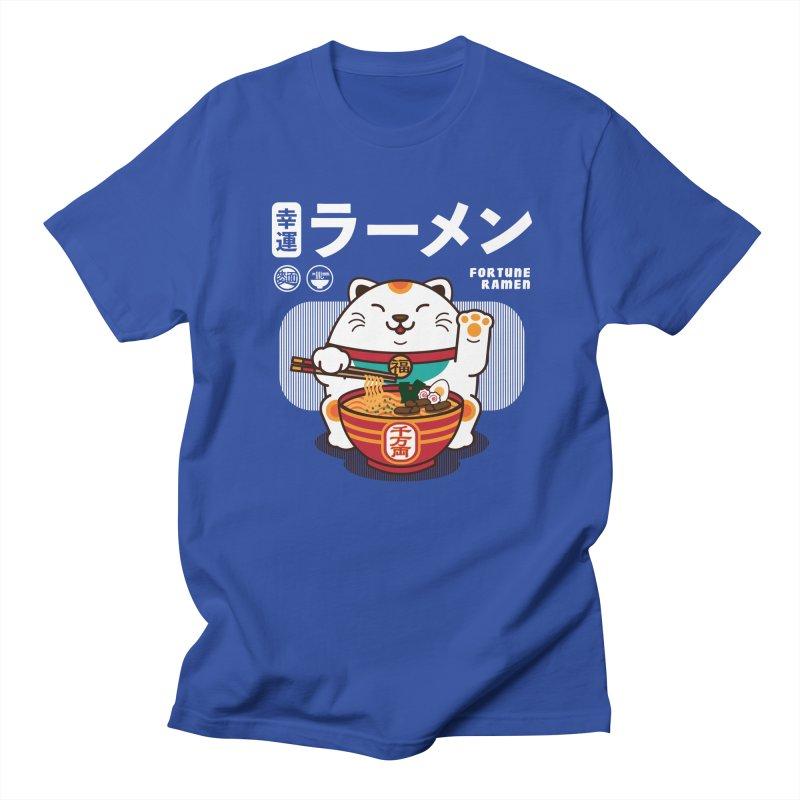 Fortune Ramen Women's Regular Unisex T-Shirt by Steven Toang