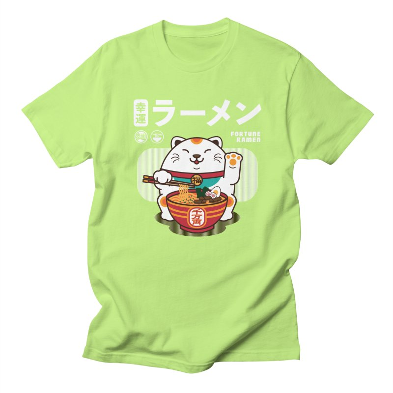 Fortune Ramen Men's Regular T-Shirt by Steven Toang